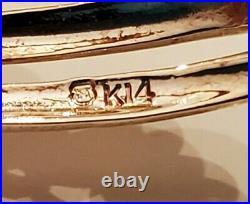 14K Yellow Gold Genuine Akoya Mikimoto Pearl Pin/Brooch