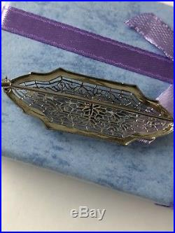 Antique 10 k Gold Diamond Filigree Lace Classic Brooch Pin Beauty