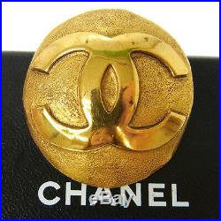 Authentic CHANEL Vintage CC Logos Brooch Pin Gold-Tone Corsage France T04489