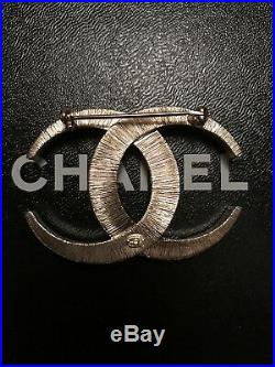 CHANEL Authentic Dubai Gold Crystal CC Moonlight Brooch Pin