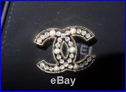 CHANEL CC Logo Brooch Pin Size Small