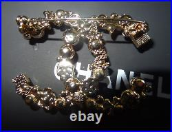 CHANEL Classic CC Logo Pin Brooch