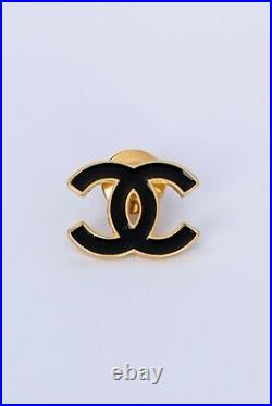 CHANEL Lovely CC logo pins brooch