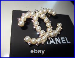 Chanel CC Brooch Pin Fashion Jewelry