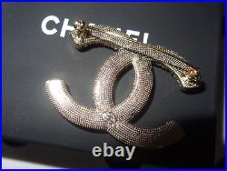 Chanel CC Logo Pin Brooch