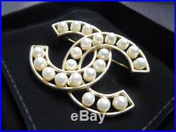 Chanel Classic CC Logo Brooch Pin