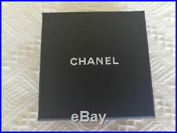 Chanel Light Gold Brooch/pin With Diamonties New Authentic