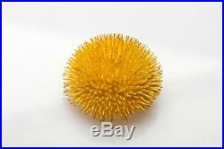HEAVY Signed Tiffany & Co SEA URCHIN 18k Yellow Gold Brooch Pin 43g HEAVY XXL
