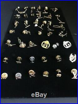 Louis Vuitton Brooche lapel / tie pin Gold
