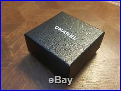 New NIB CHANEL Large Jumbo CC Gem Gold Tone Victorian Style Pin Brooch with tag
