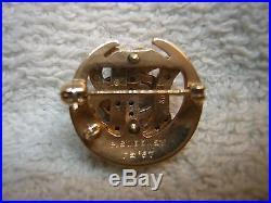 Vintage 1967 Gamma Phi Beta Sorority 10K Gold withSeed Pearls Pin or Brooch