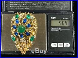 Vintage Tiffany & Co 14K Yellow Gold, Diamond Brooch pin