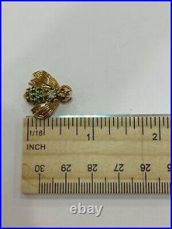 Vintage Tiffany & Co Bee Brooch Pin In 18k Yellow Gold